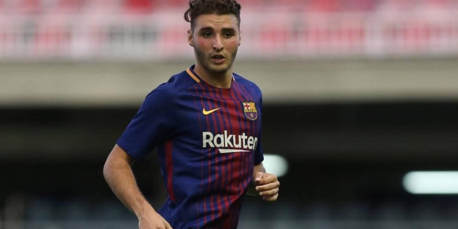 Abel Ruiz es delantero del Barcelona y aunque aún no debuta en el primer equipo blaugrana es una de las promesas de la Masía.