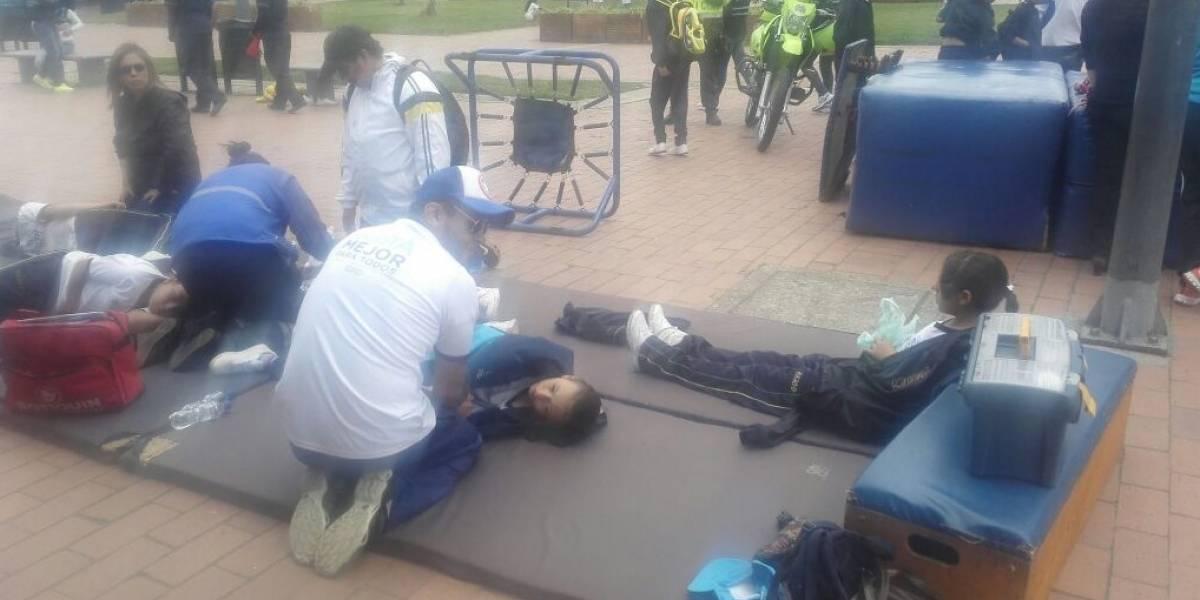 Emergencia por múltiples desmayos de estudiantes de colegio en el sur de Bogotá