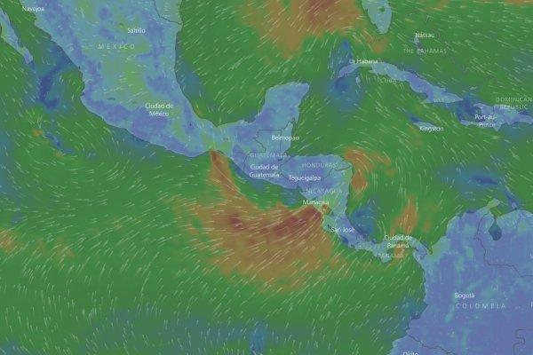 Impresionante furia del huracán Nate en EU