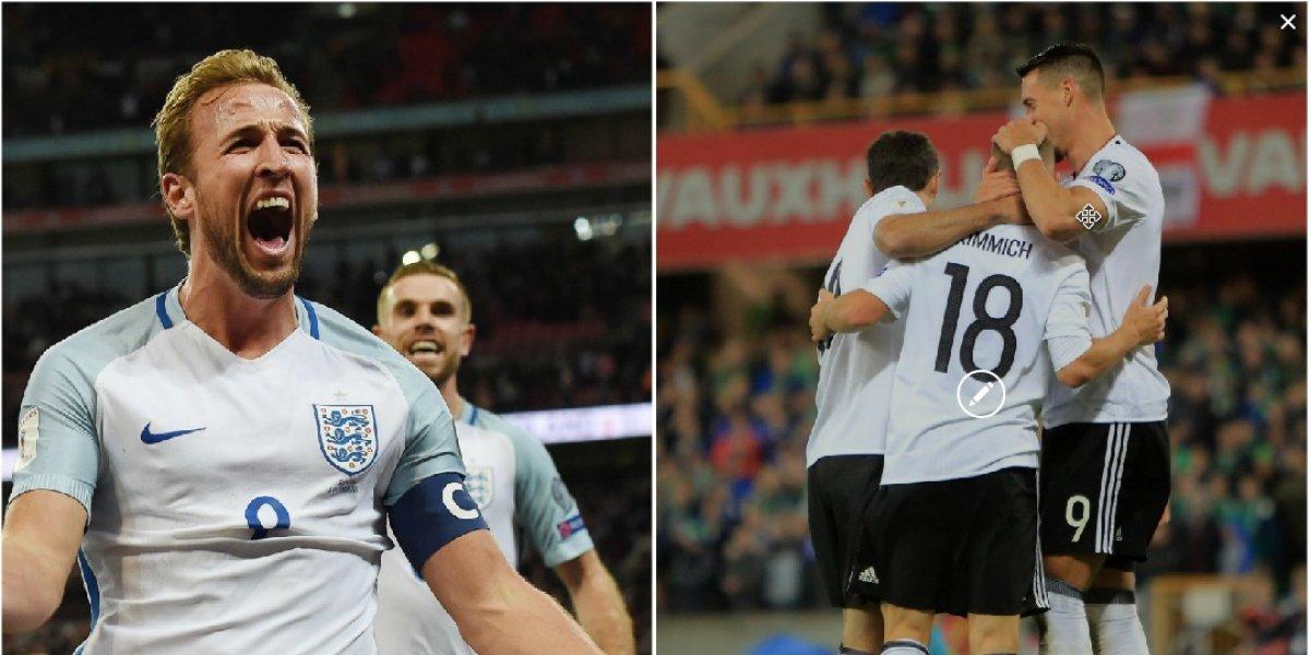 El campeón clasificó con autoridad; Inglaterra lo hizo con muchas dudas