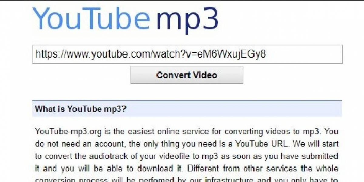 ¿Cómo descargar música sin YouTube-MP3?