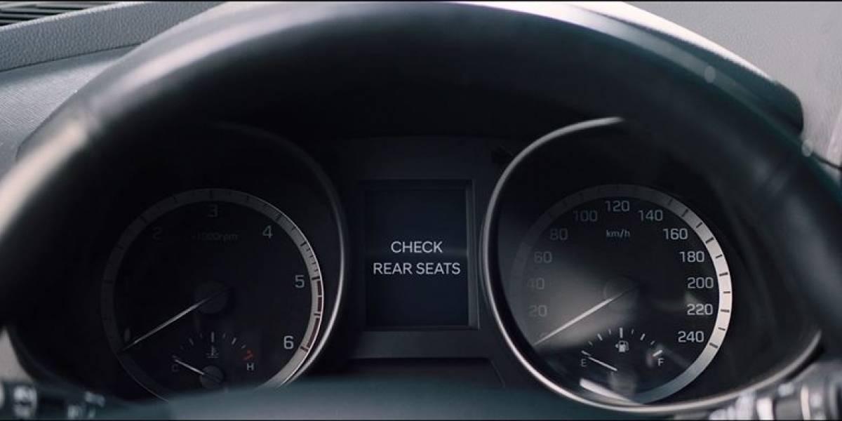 Crean alerta para no olvidar a los niños en el asiento trasero del auto
