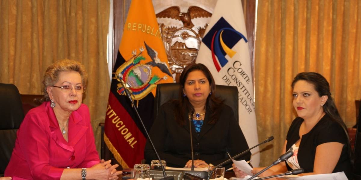 Corte Constitucional aprueba pedido de Consulta Popular
