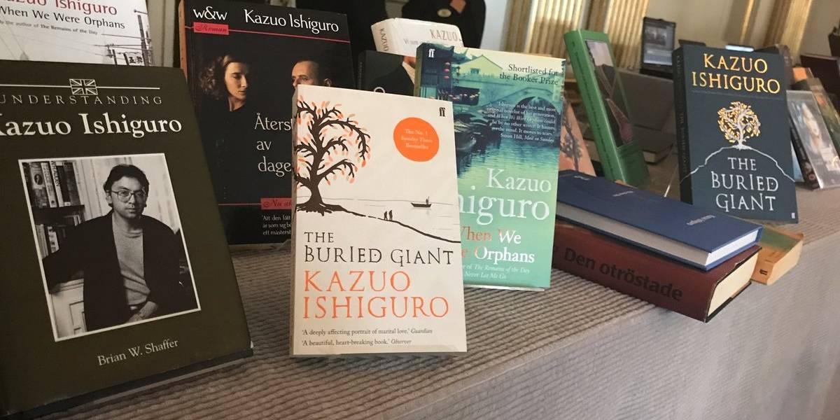 4 libros para conocer a Kazuo Ishiguro, Premio Nobel de Literatura 2017