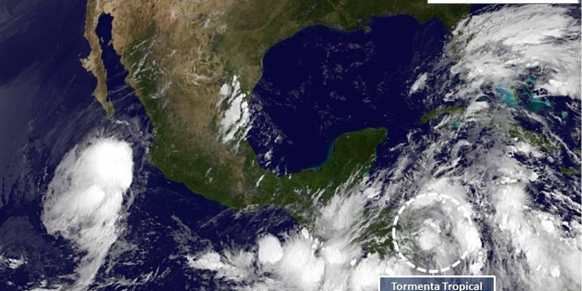 Autoridades de Quintana Roo en alertas por tormenta tropical 'Nate'