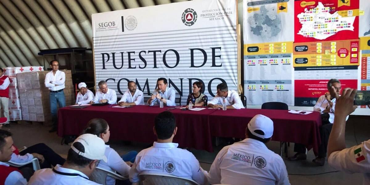 Organizados y en unidad saldremos adelante en Oaxaca: Osorio Chong