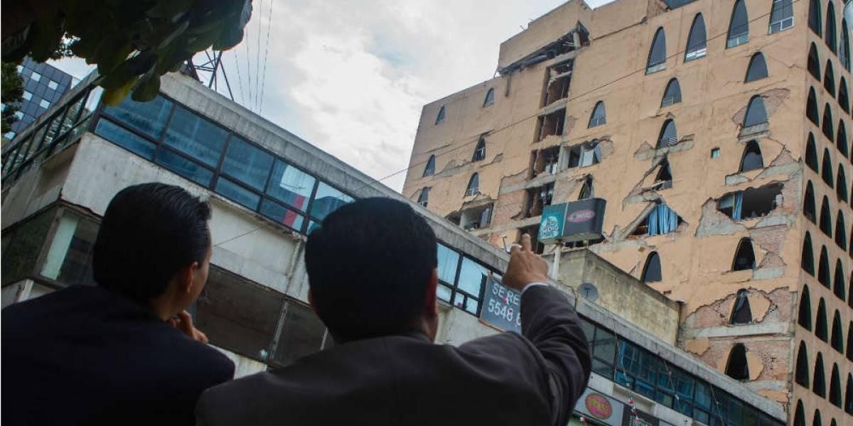 Hasta mil edificios se demolerían en la CDMX