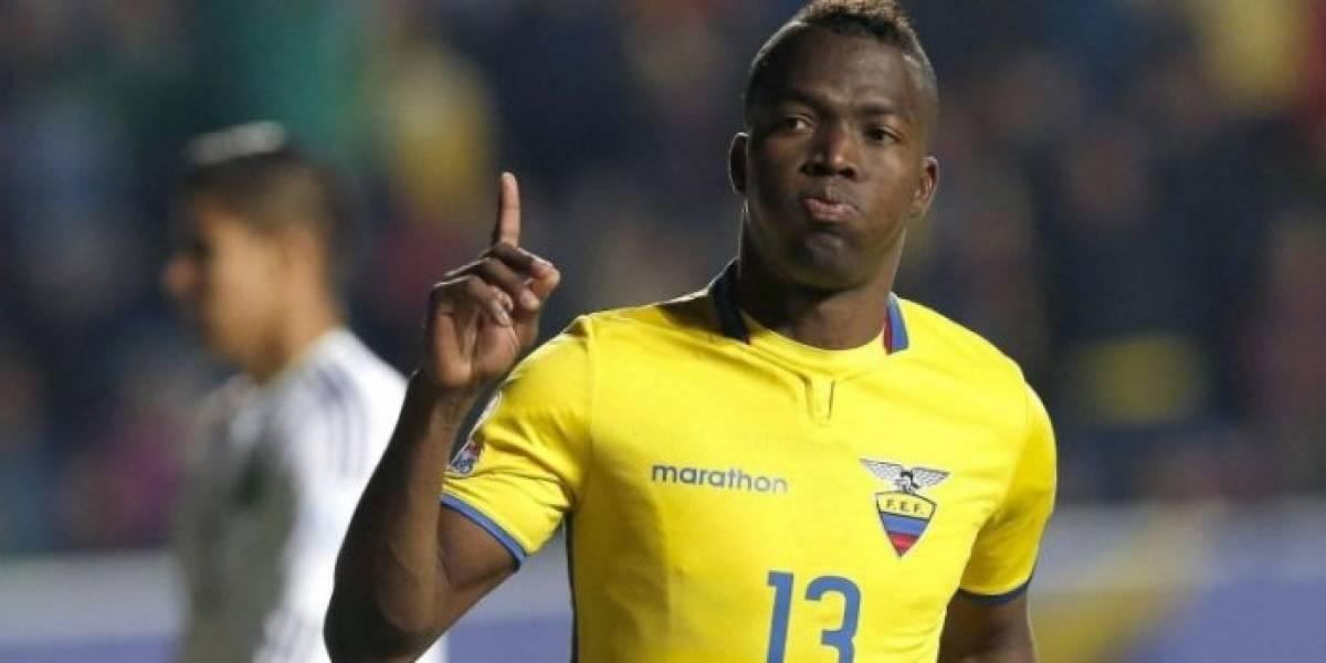 Enner Valencia sería baja en la Selección ecuatoriana