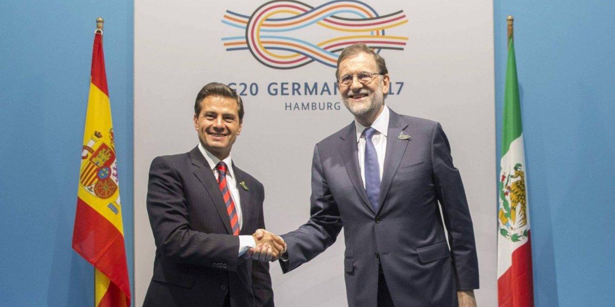 Peña Nieto agradece a Mariano Rajoy ayuda de España tras terremoto