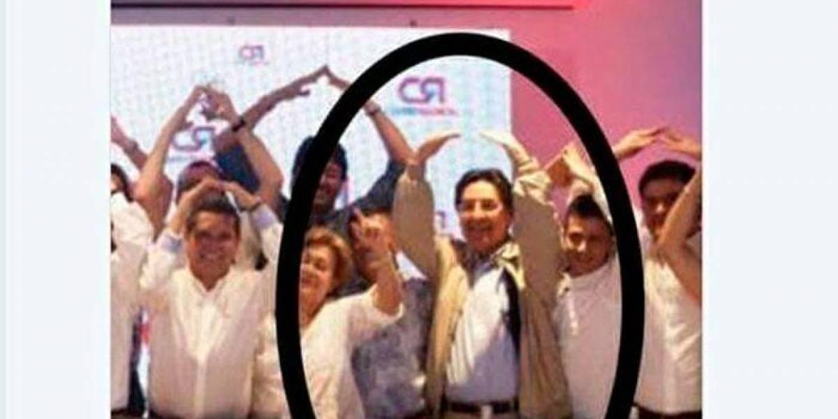 Fiscal Martínez dice que no tiene vínculos con Vargas Lleras y en redes le recuerdan (con fotos) que no es así