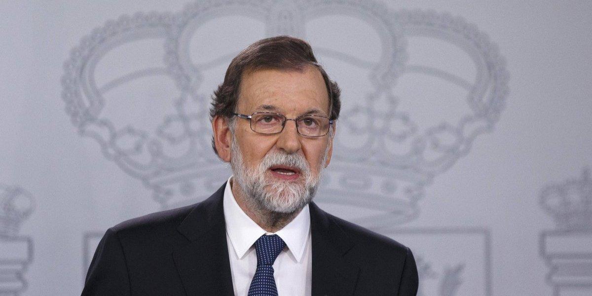 Rajoy exige a Cataluña detener su  declaración de independencia