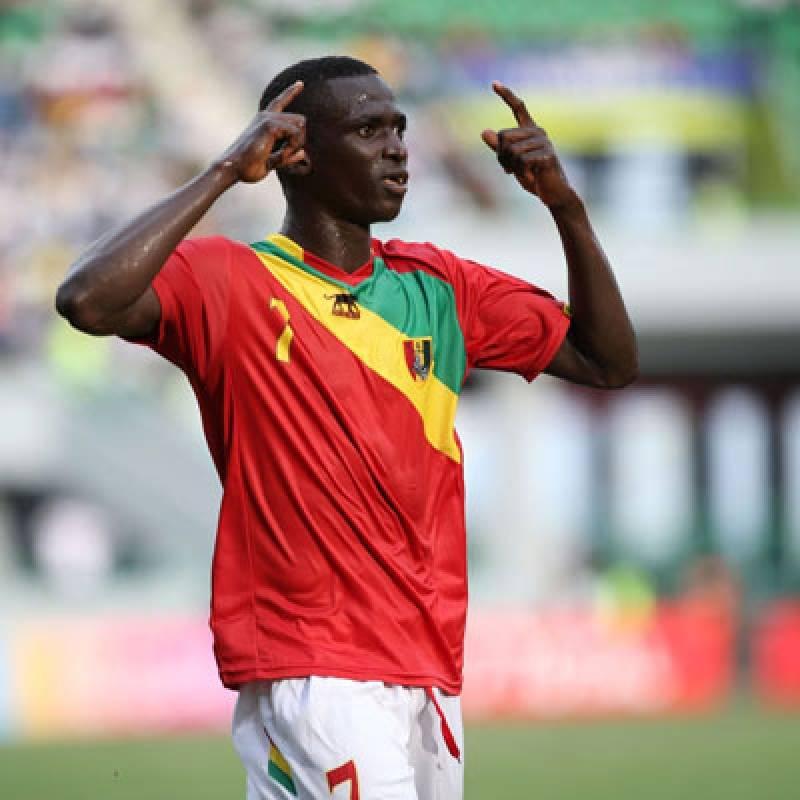 Djibril Touré fue el goleador del Campeonato Africano Sub 17 con Guinea al marcar seis tantos.