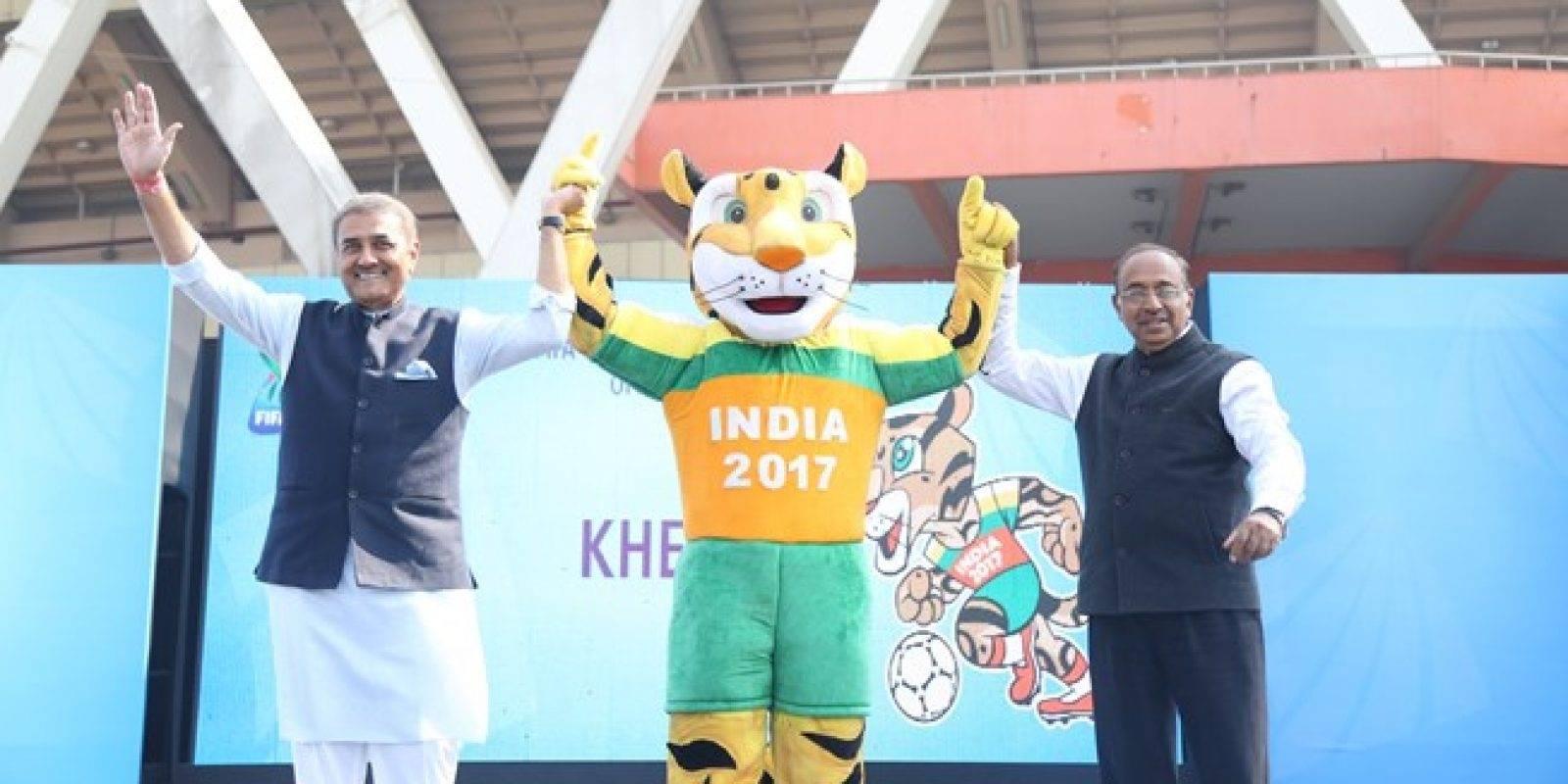 Kheleo, mascota oficial del Mundial de India Sub 17.