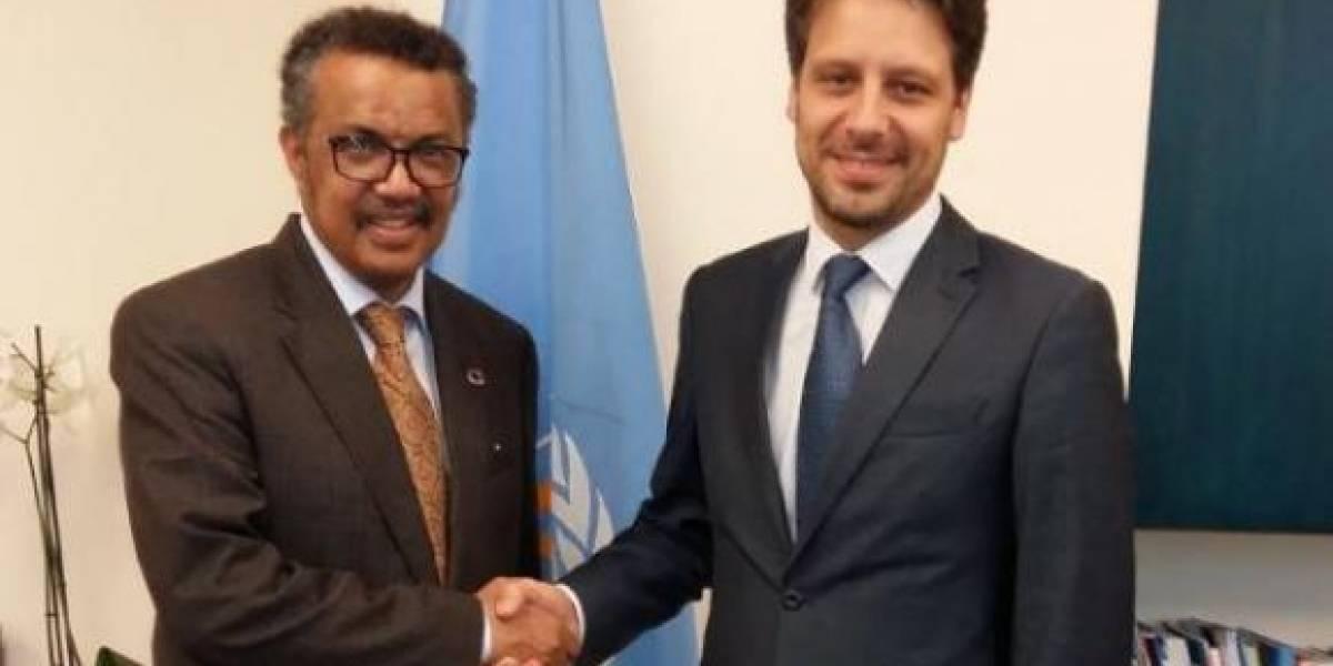 OMS felicita liderazgo de Ecuador en el campo de la salud