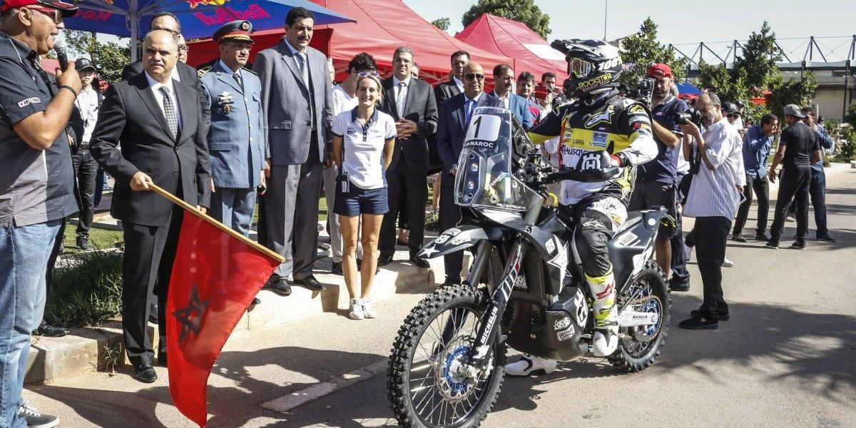 Quintanilla reconoce terreno y llega con expectativas de triunfo para el Rally de Marruecos