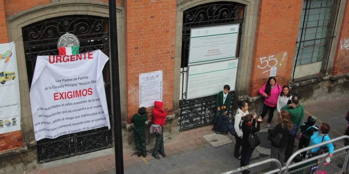 Asciende a 15 mil la cifra de escuelas dañadas por sismos: Aurelio Nuño