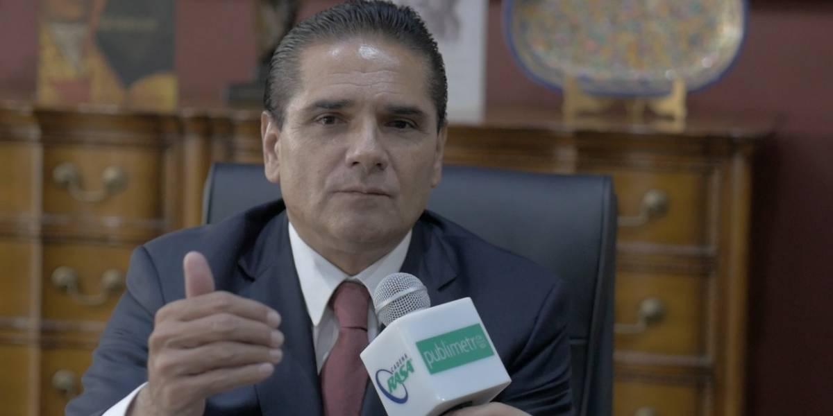 Frente por México debe ser legitimado por el voto ciudadano: Silvano Aureoles