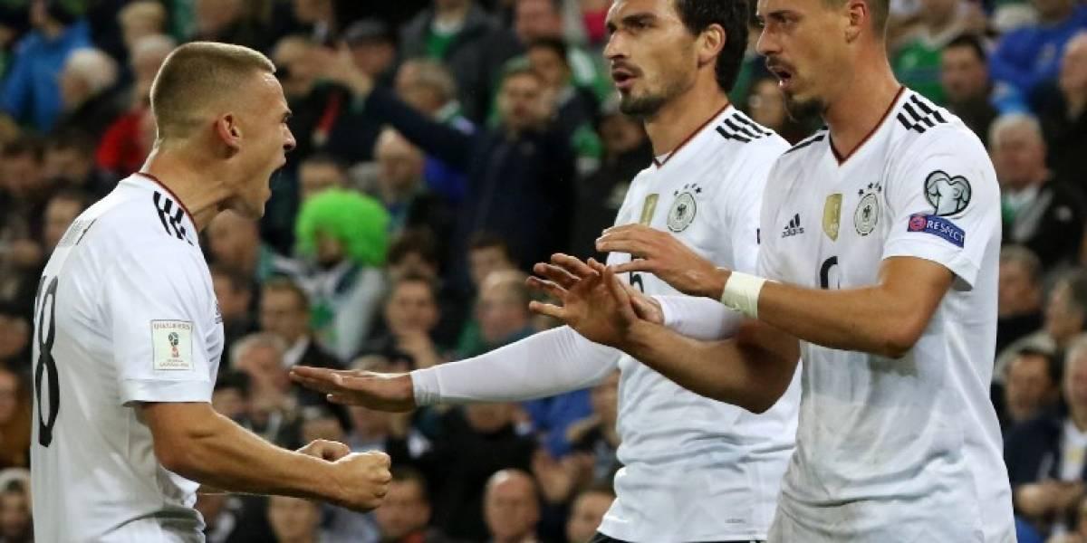 Alemania vence a Irlanda del Norte y sella su boleto al Mundial