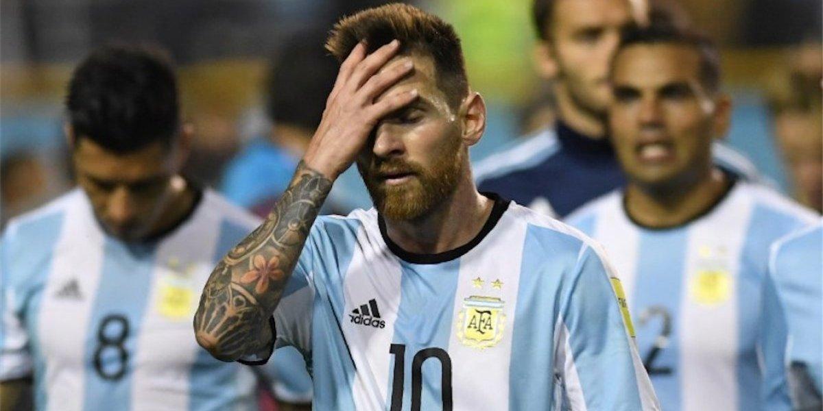 Argentina puso en riesgo su clasificación al Mundial de Rusia 2018