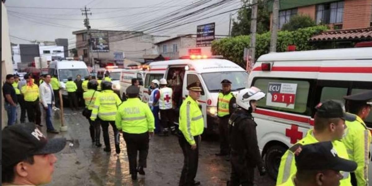 Seis personas resultaron heridas tras motín en CDP de Quito