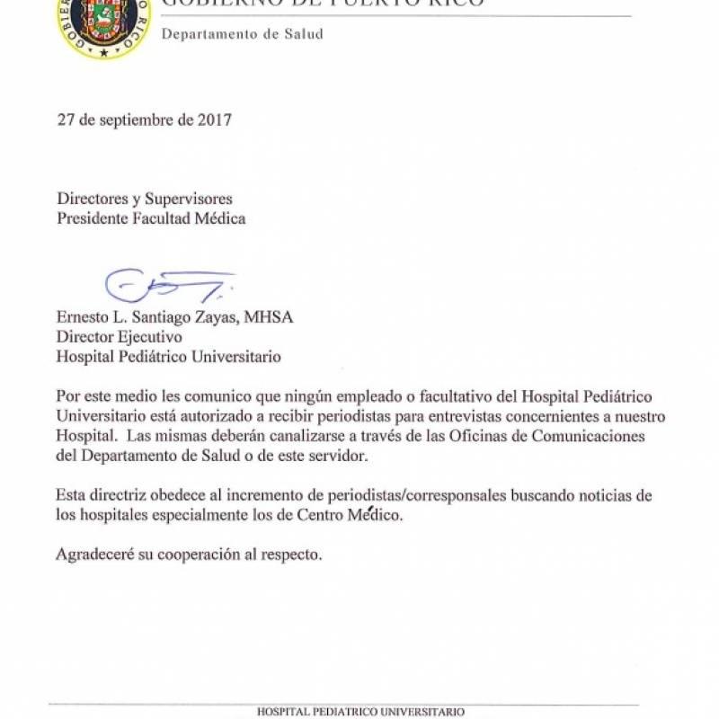Memo Hospital Pediátrica