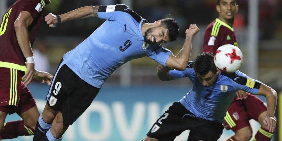 Uruguay deja en suspenso su clasificación al Mundial de Rusia