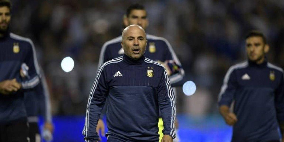 """Sampaoli promete clasificar a Argentina al Mundial: """"Vamos a ganar a Ecuador"""""""