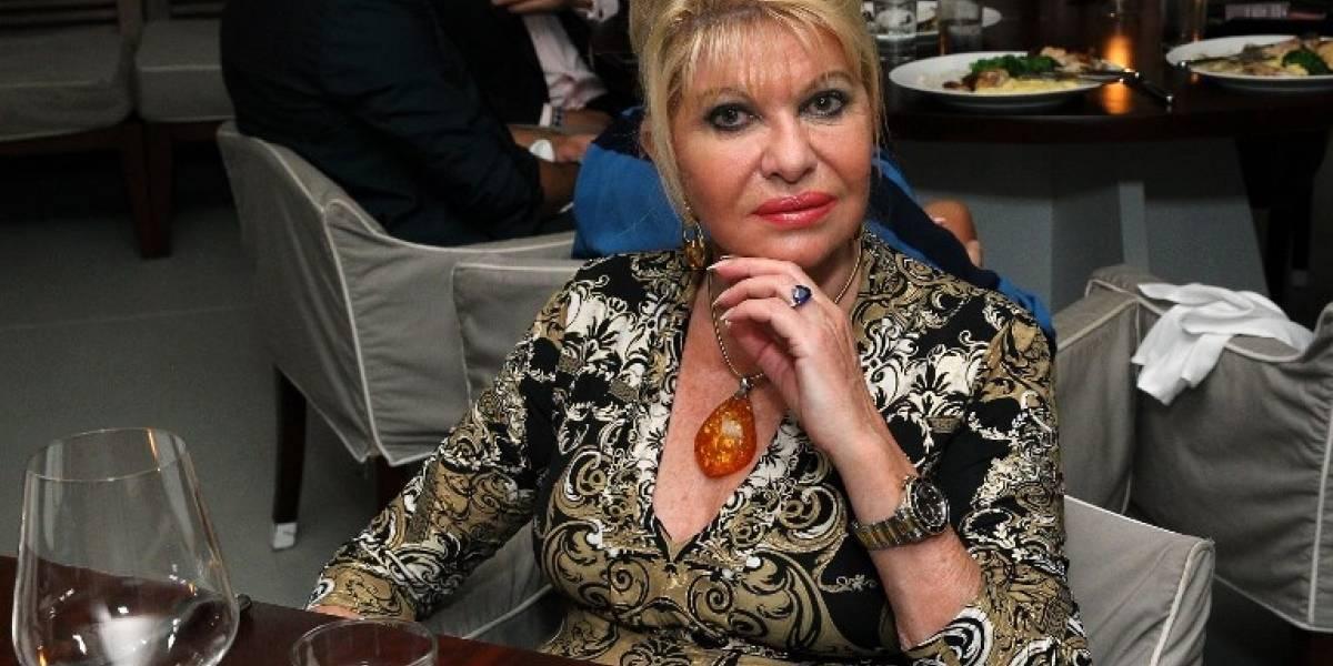 Trump ofrece embajada a su exesposa Ivana; ella lo rechaza