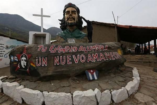 Che LA HIGUERA (BOLIVIA)