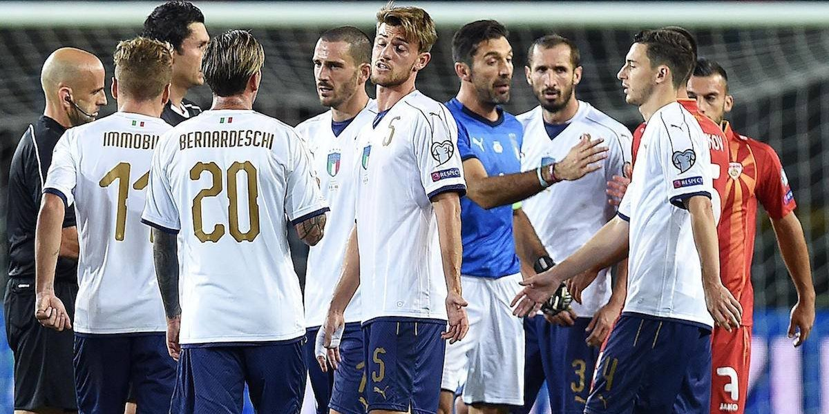 Italia empata en casa y va al repechaje por el boleto al Mundial