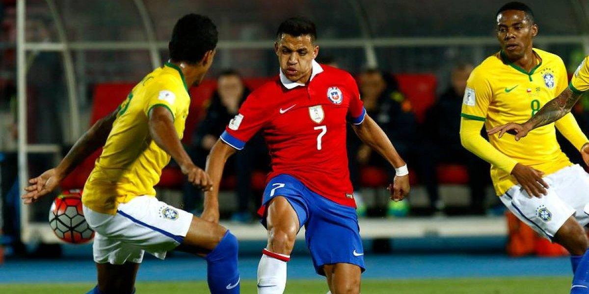 ¿Cuándo y a qué hora juega Chile contra Brasil rumbo a Rusia 2018?