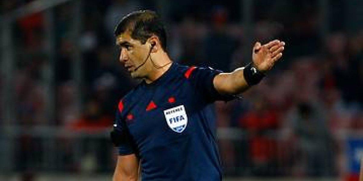 ¿Será cábala? El ecuatoriano que arbitró el 2-0 del Nacional será el juez de Brasil-Chile