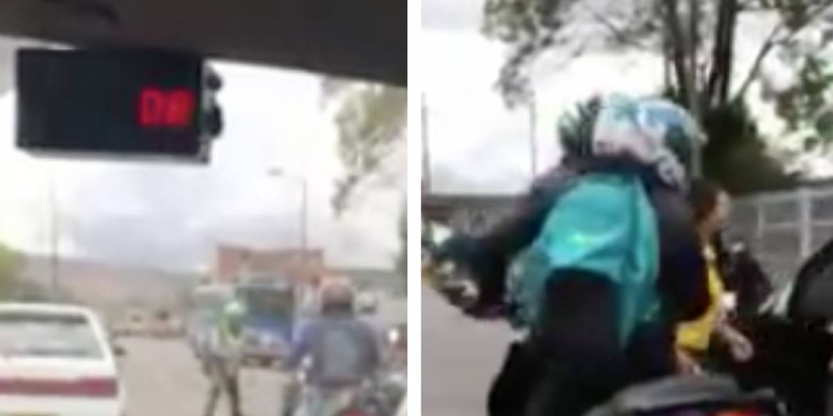 Video: Supuestos policías habrían asaltado a una mujer en Bogotá