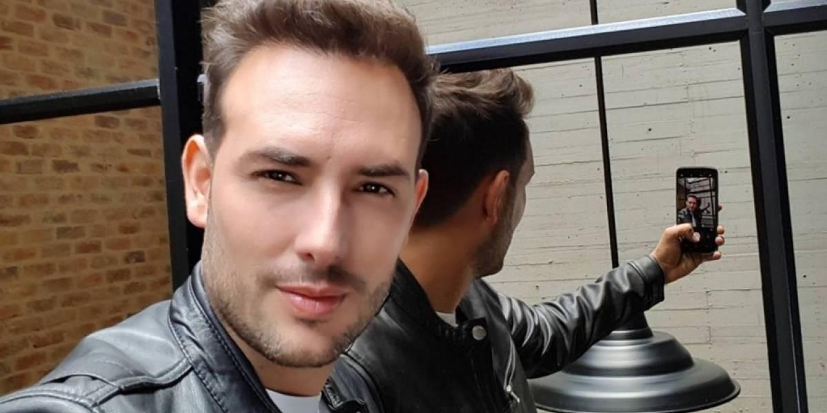 El actor Sebastián Martínez se desnudó por la selección Colombia