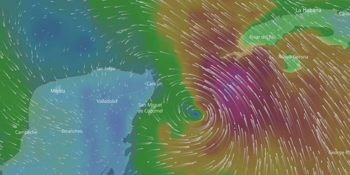 Nate toca tierra en Estados Unidos como huracán de categoría 1