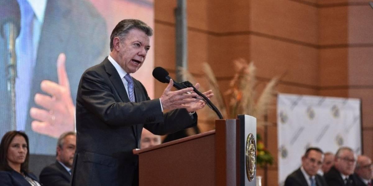Santos se despachó contra Álvaro Uribe y trató a la oposición de mentirosa