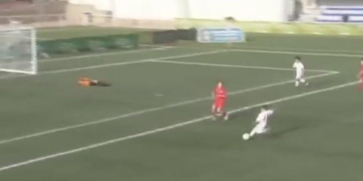VIDEO: Equipo infantil del Real Madrid se deja meter gol