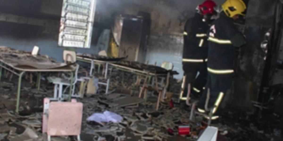Los bañó con bencina y les prendió fuego: vigilante de guardería desata tragedia en Brasil y provoca la muerte de seis niños