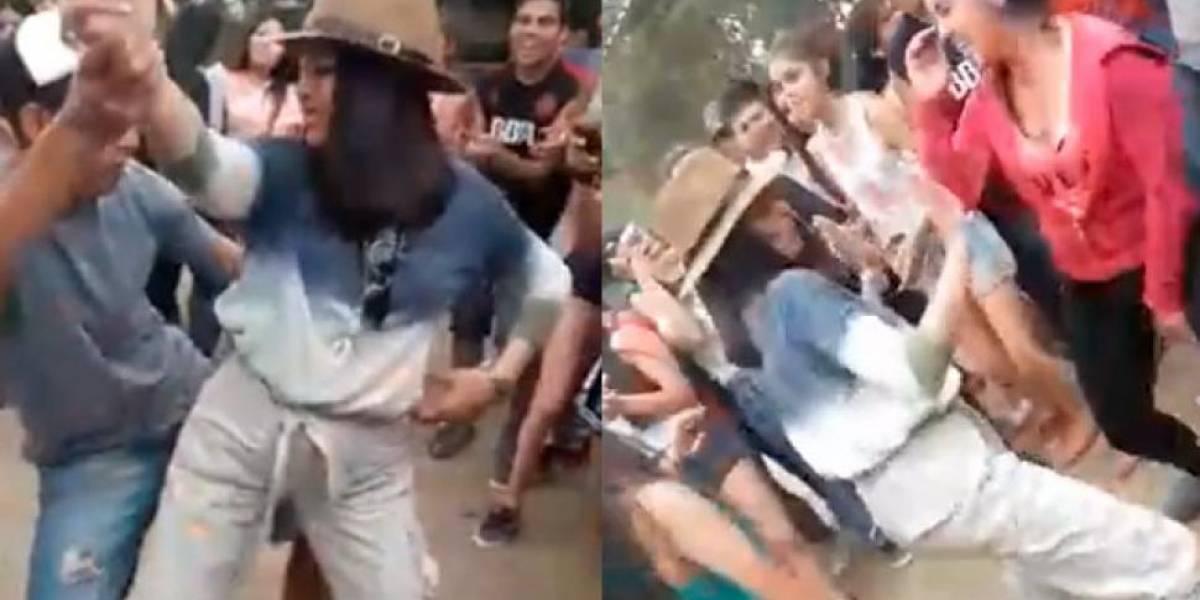 Polémica por rectora de un colegio que fuma y baila reguetón frente a sus alumnos
