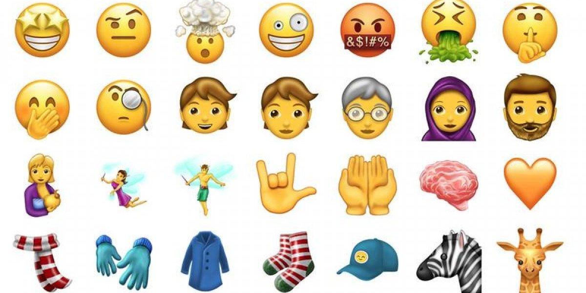 Nuevos emojis llegan a Apple con iOS 11
