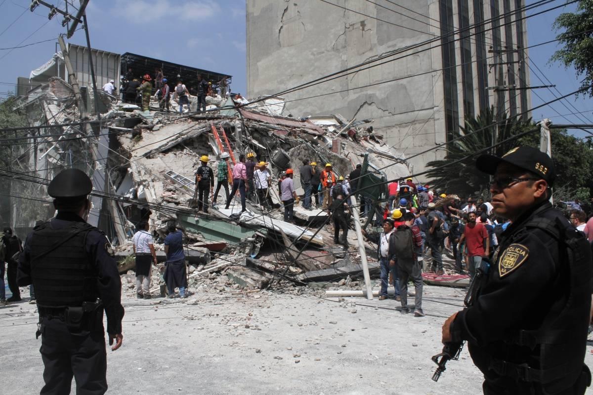 El último terremoto de 7,1 grados en México causó estragos en varias ciudades.