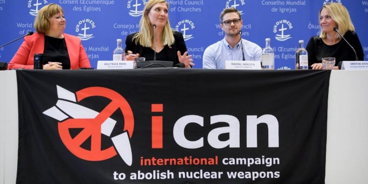 Campaña Internacional para Abolir las Armas Nucleares recibe el Nobel de la Paz