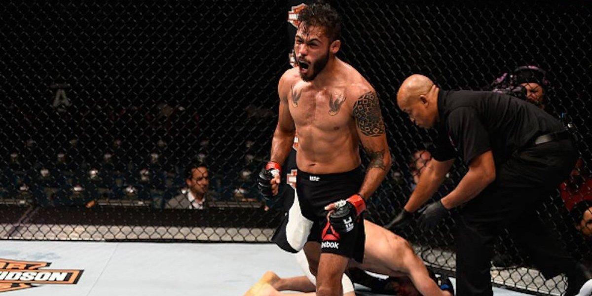 Marco Beltrán pone su futuro en juego en UFC 216