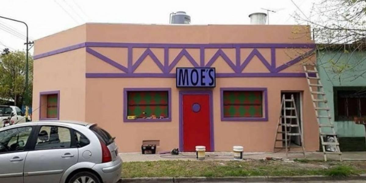 ¿Venden Duff?: la legendaria y decadente taberna de Moe es una realidad y está en Argentina