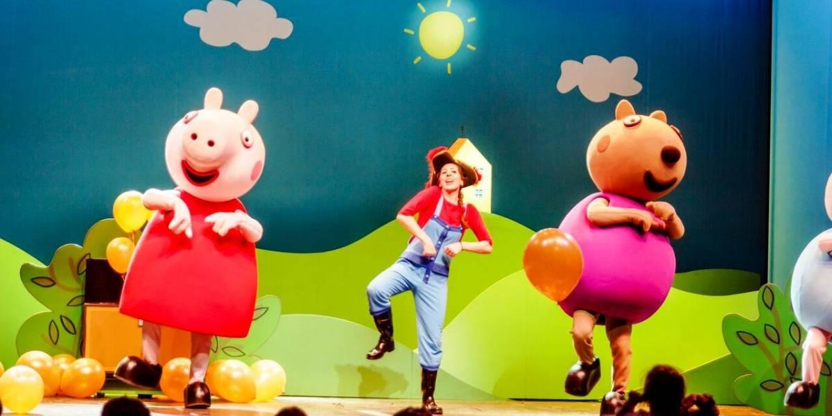 """""""Peppa Pig"""" regresa a la isla"""