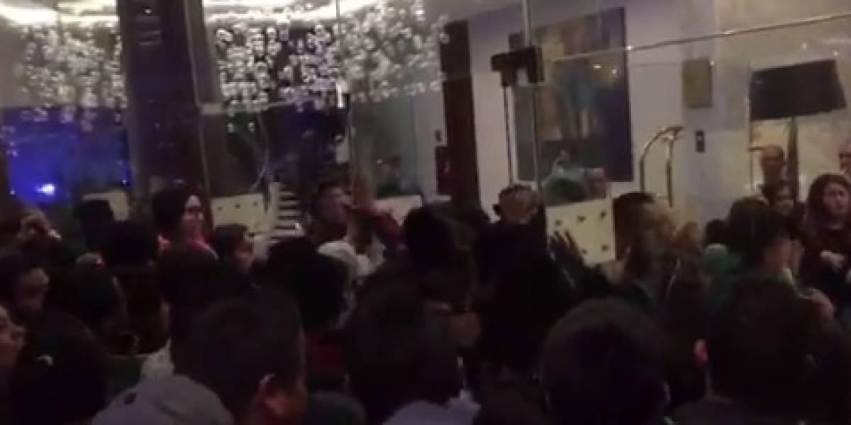Aficionados dan 'portazo' en hotel del Tricolor