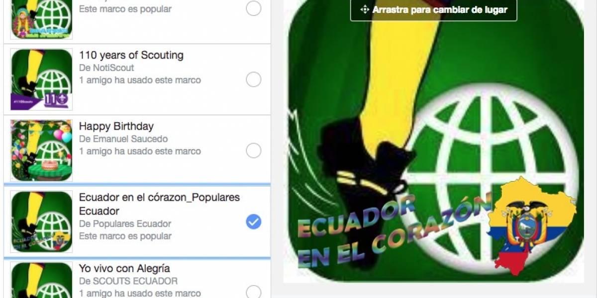 Facebook: Así podrás apoyar a la Selección de Ecuador