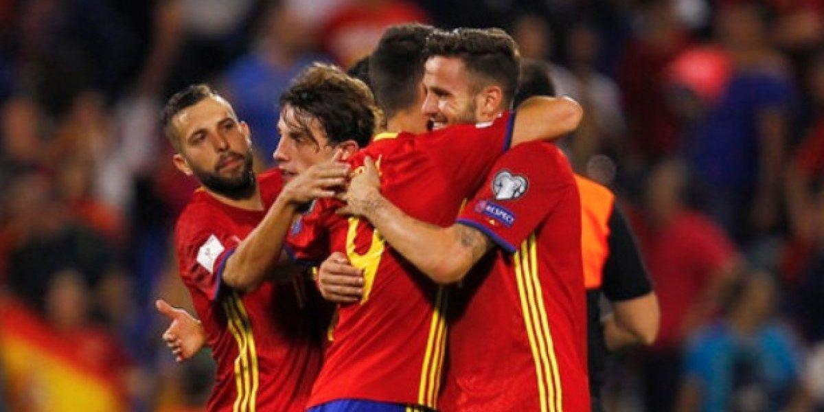 España se clasifica al Mundial
