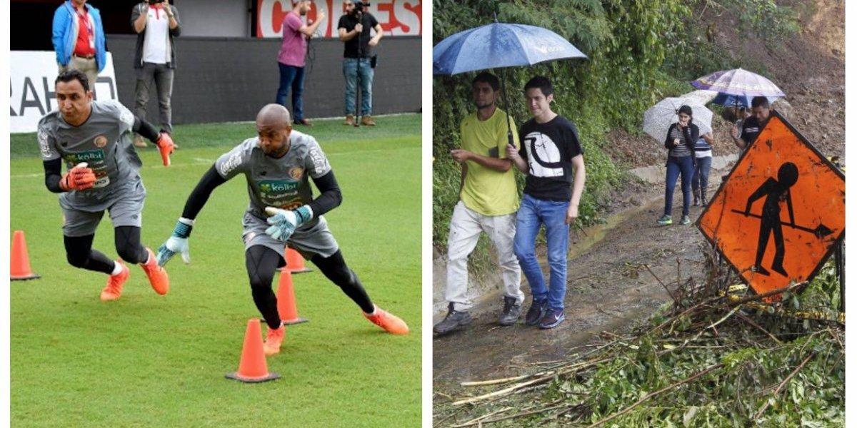 Juego se pospone por fenómeno natural y así queda la jornada de la Concacaf