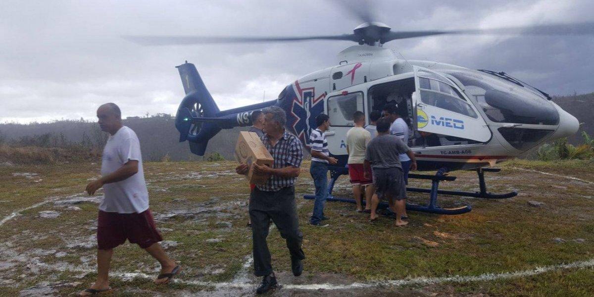 El sector Seburuquillo en Lares clama por agua y comida